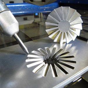 Пример гидроабразивной резки