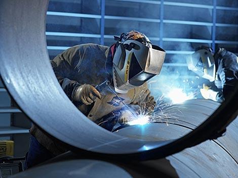 Процесс обработки металла