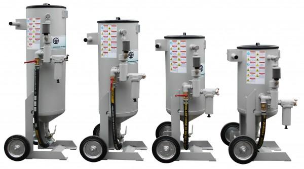 Пескоструйные агрегаты