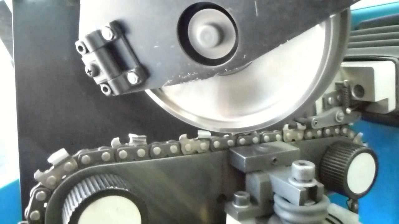 Диск - автоматическая заточка зубьев