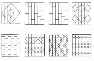 Примеры решеток