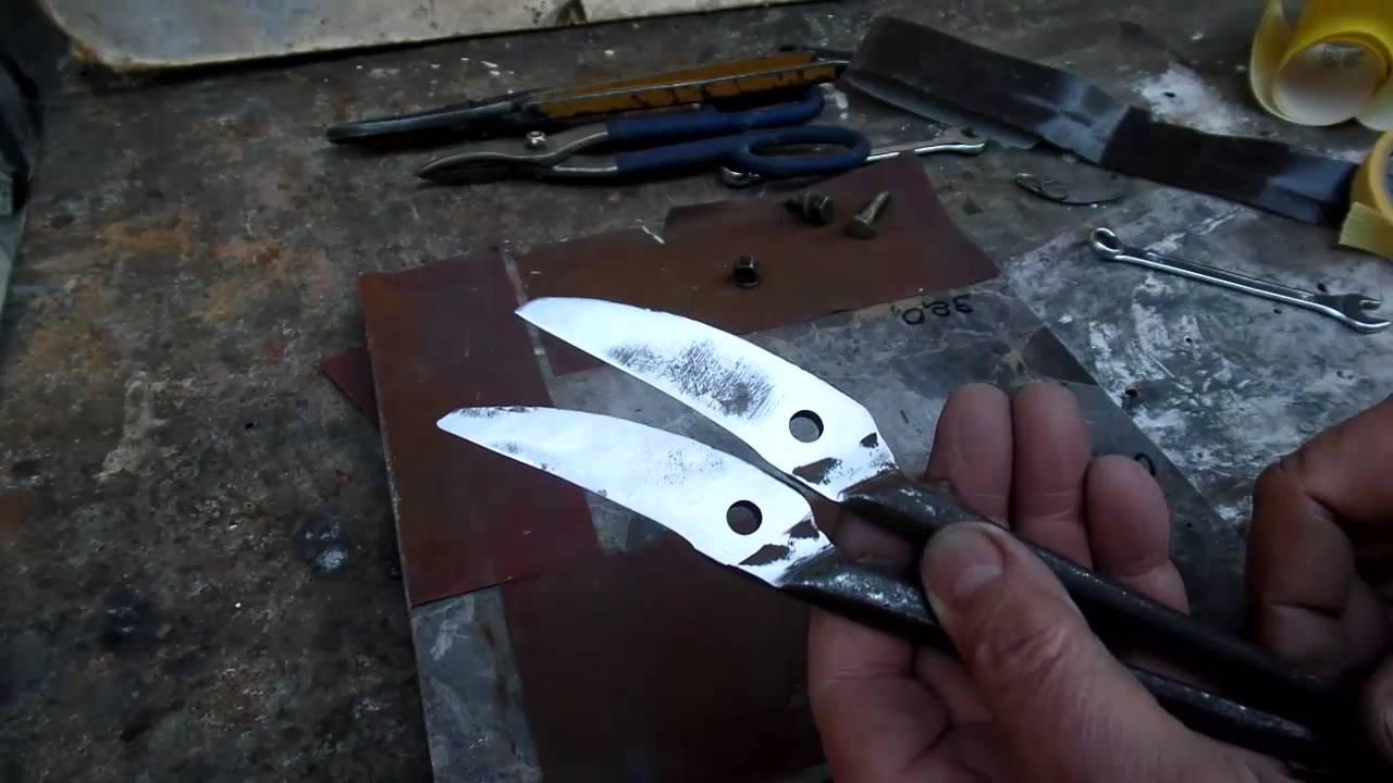 как правильно заточить ножницы в домашних условиях фото